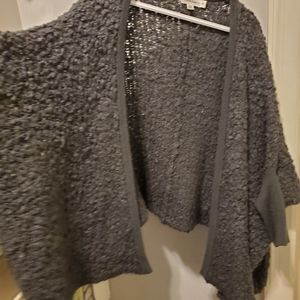 Ck knit sweater wrap